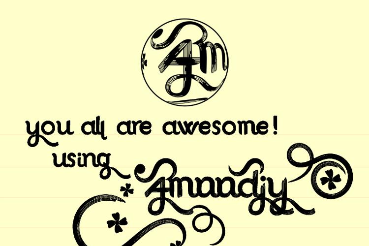 Amoodjy Font