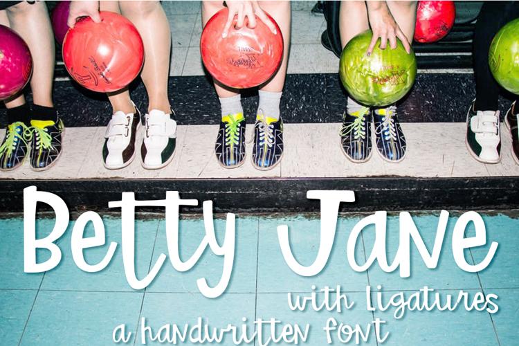 Betty Jane Light Font