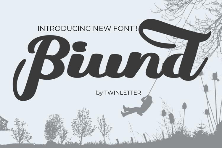 Biund Font