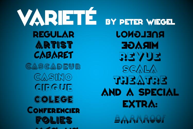 Varieté Font