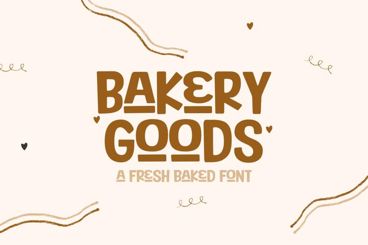 Bakery Goods Font