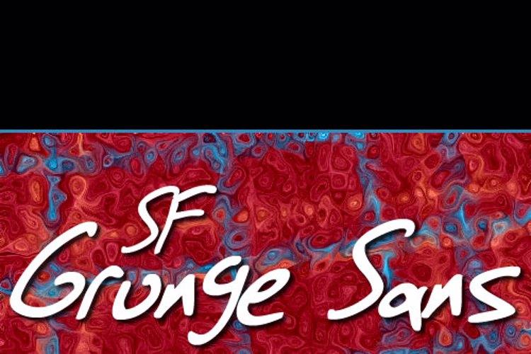 SF Grunge Sans Font