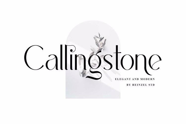 Callingstone Font