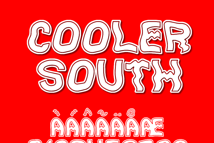 Cooler South St Font