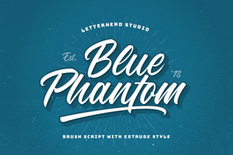 Blue Phantom Font