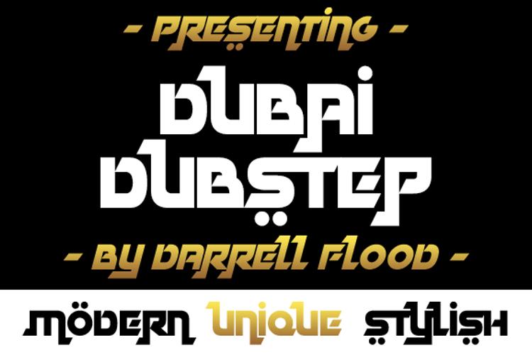 Dubai Dubstep Font
