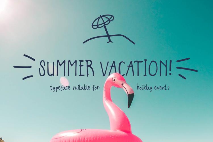 Summer Vacation Font