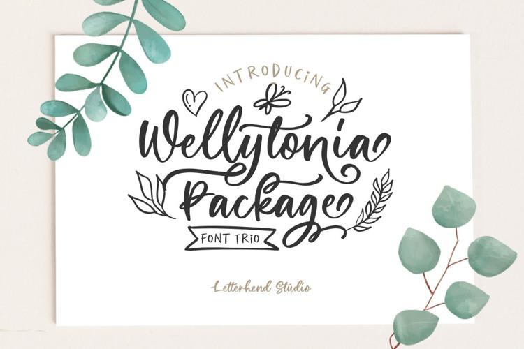Wellytonia Script Font