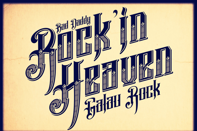 Pure Black Demo Font