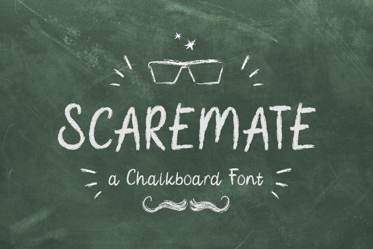 Scaremate Font