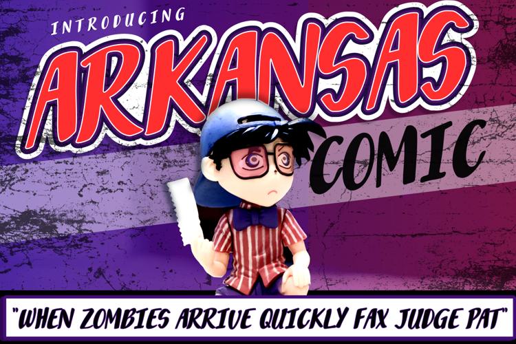 Arkansas Comic Font