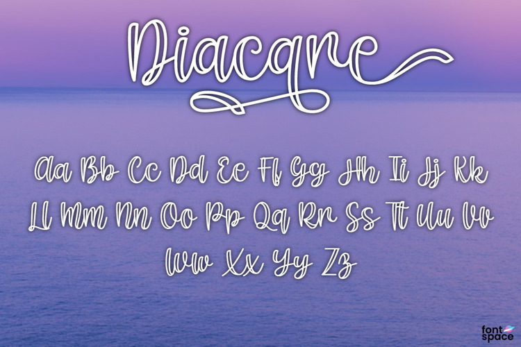 Diacare Font