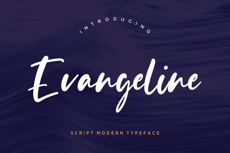 Evangeline Font