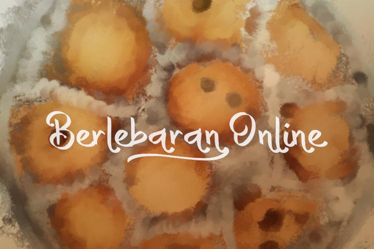 b Berlebaran Online Font