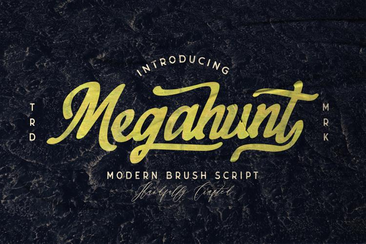 Megahunt Font