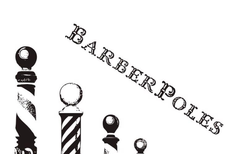 BarberPoles Font