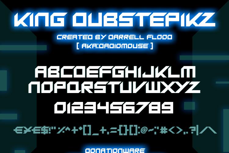 King Dubstepikz Font