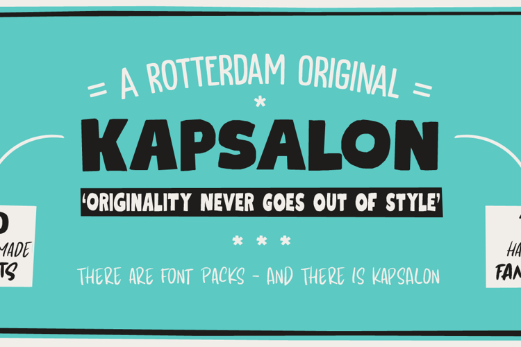 Kapsalon DEMO Font