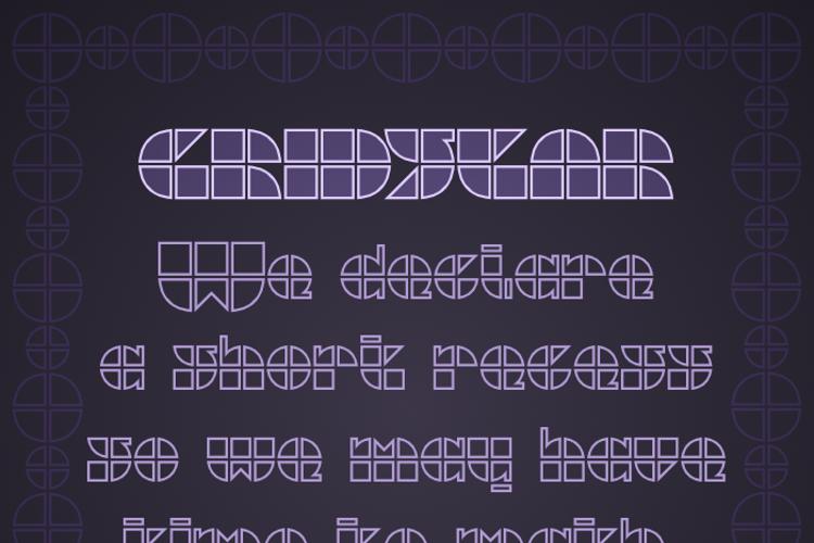Gridstar Font