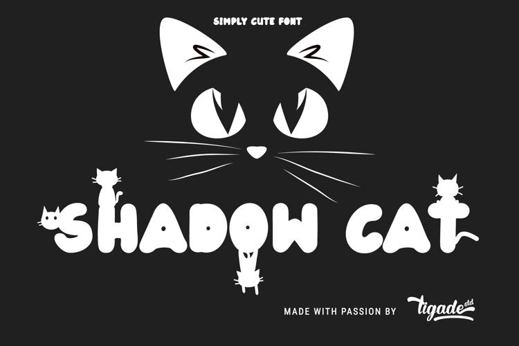 Shadow Cat Font