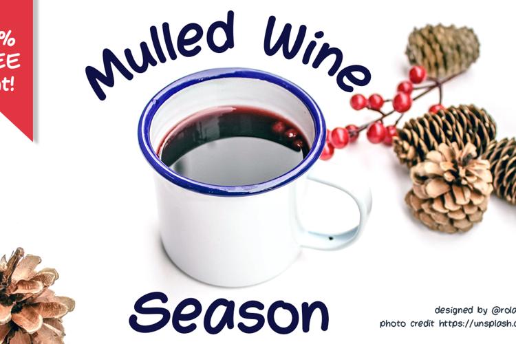 Mulled Wine Season Font