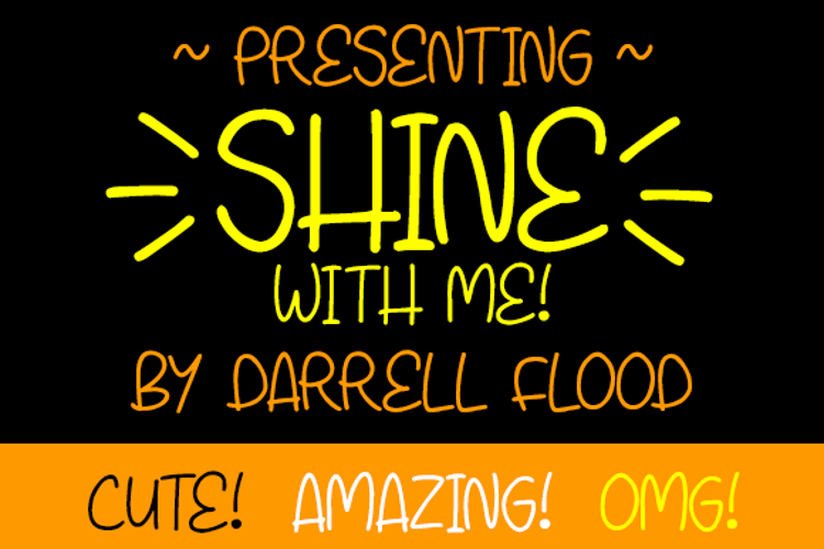 Shine With Me Font