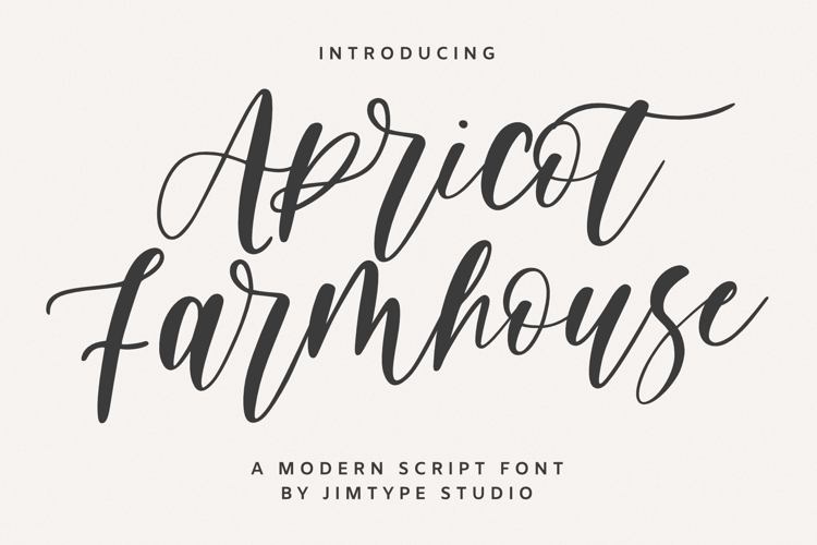 Apricot Farmhouse _ PERSONALUSE Font