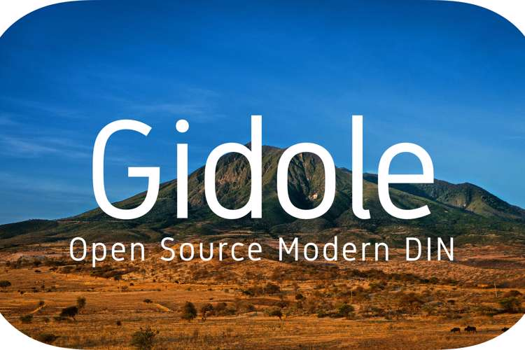 Gidole Font