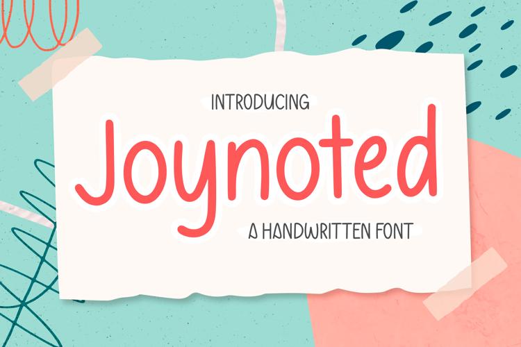Joynoted Font