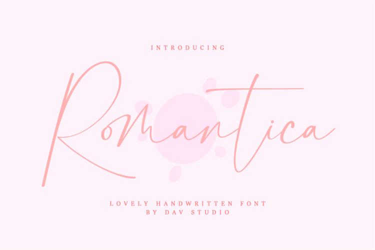 Romantica Font