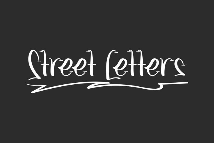 Street Letters Font