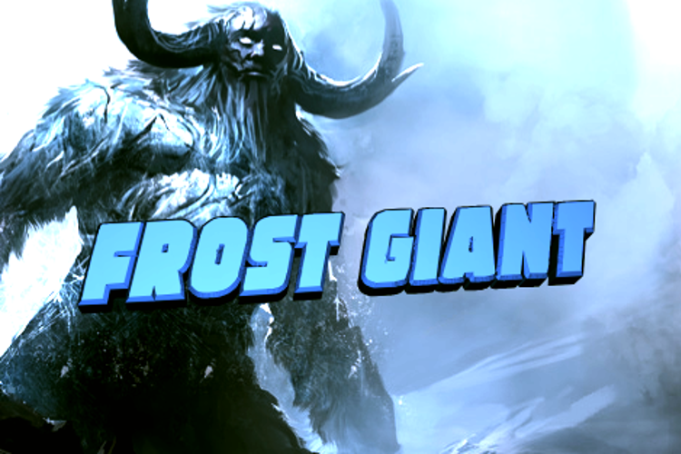 Frost Giant Font