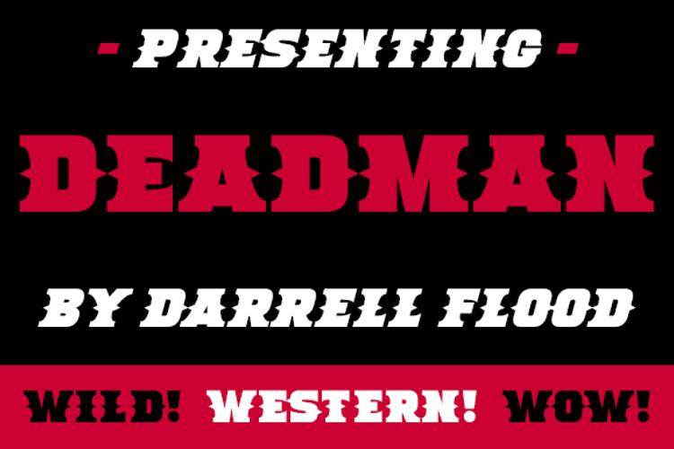 Deadman Font