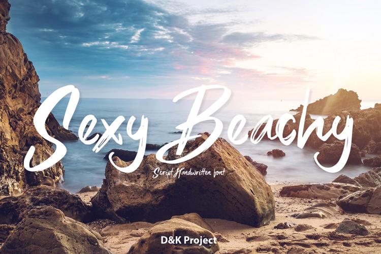 Sexy Beachy Font