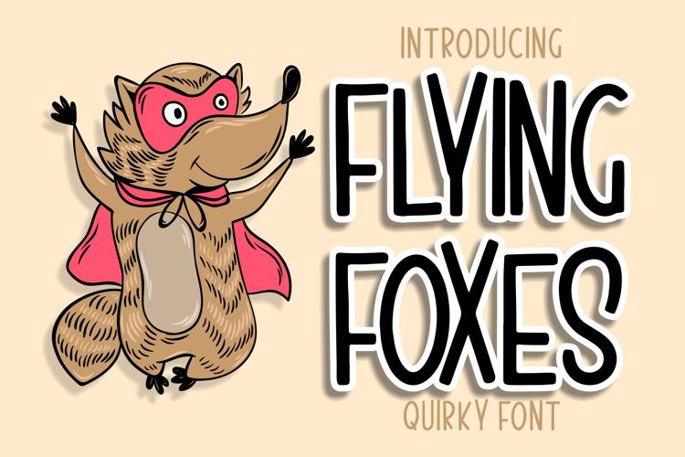 Flying Foxes Font