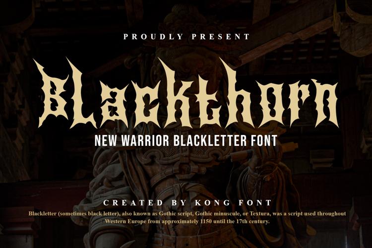Blackthorn Font