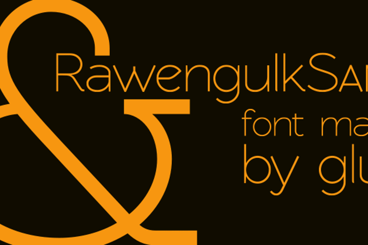 RawengulkSans Font