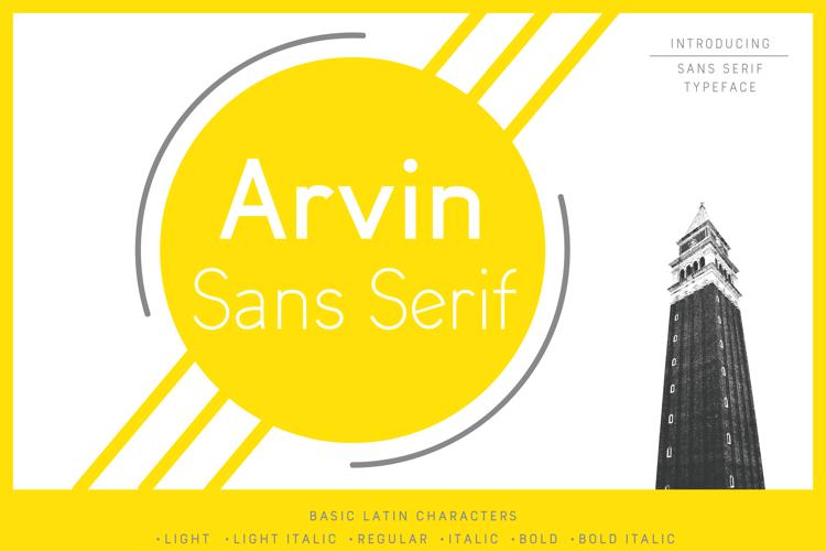 Arvin Font
