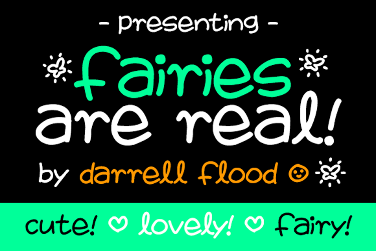 Fairies Are Real Font