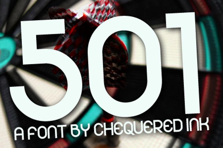 501 Font