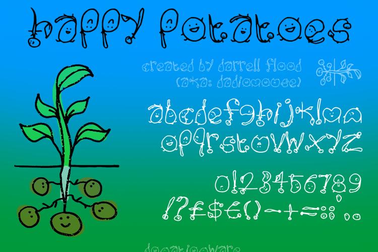 Happy Potatoes Font