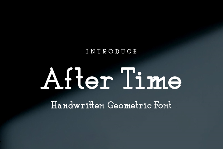 After Time Font
