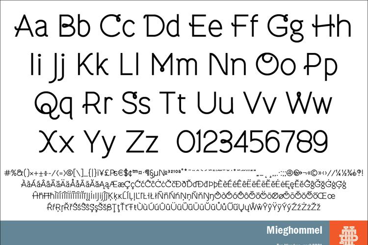 Mieghommel Font