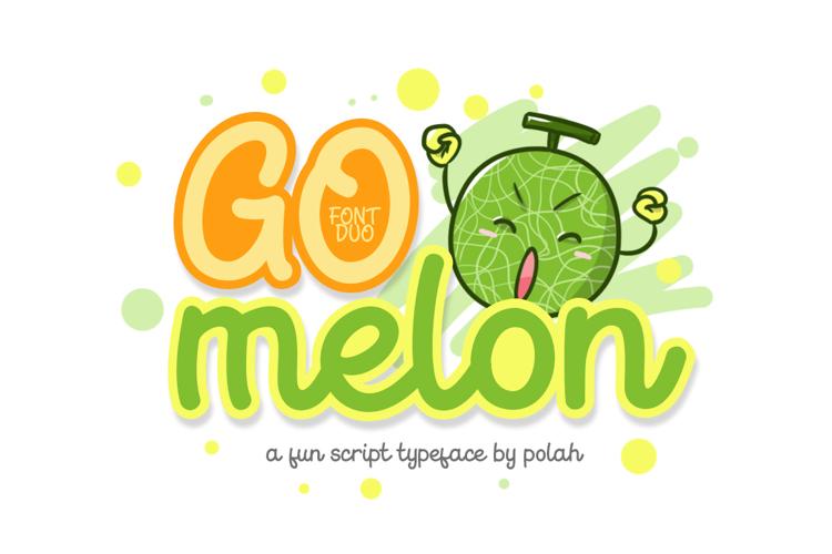 Go Melon Font