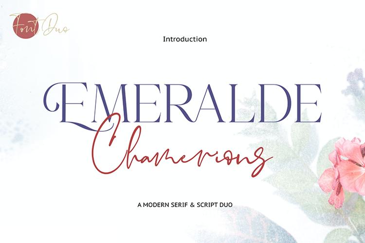Emeralde Chamerions Serif Font