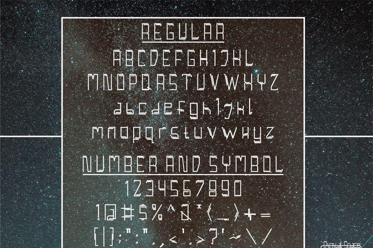 Digital Space Font