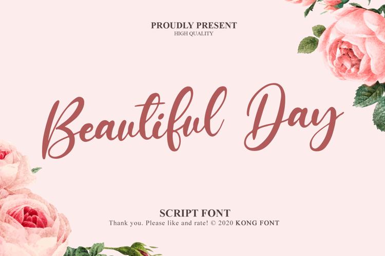 Beautiful Day Font