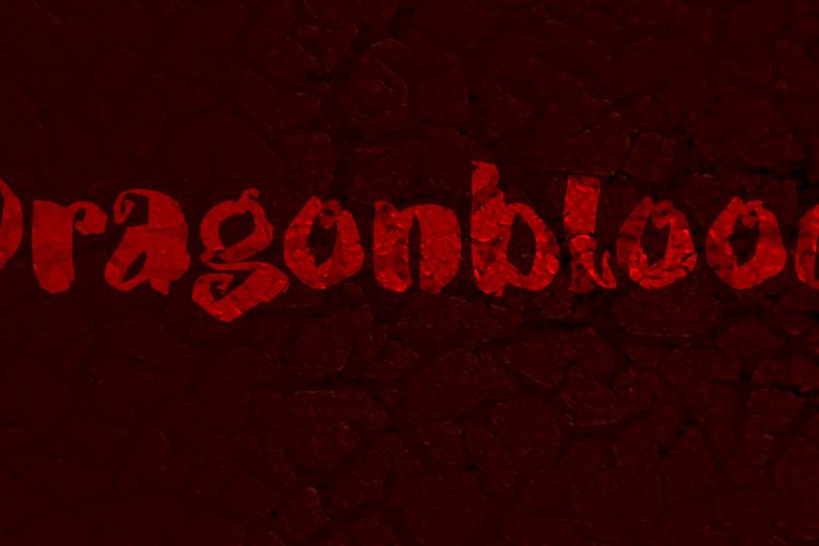 DK Dragonblood Font