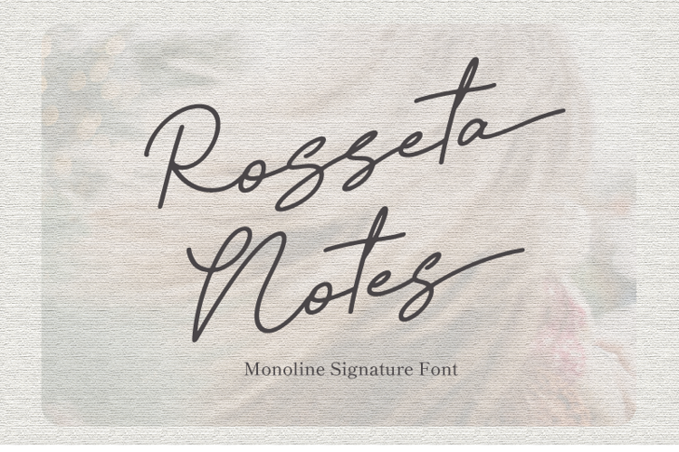 Rosseta Notes Font