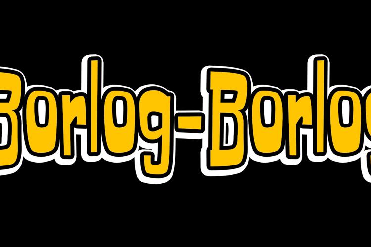Borlog-Borlog Font
